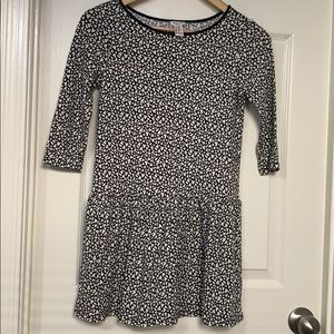 🌸junior casual dress with heart shape